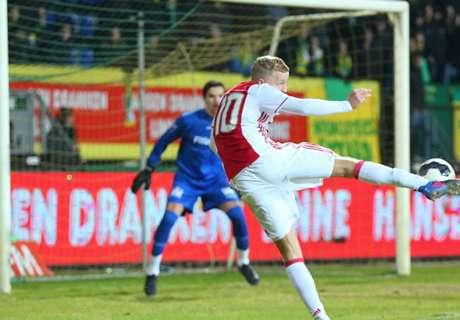 Pak slaag voor Jong Ajax in Sittard