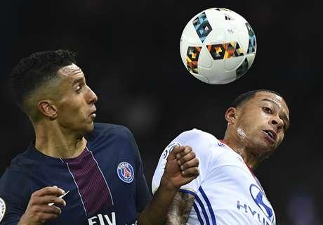 PSG te machtig voor Depay en Lyon