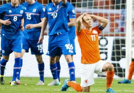 Sorpresa: Holanda cayó ante Islandia