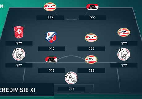 Top-11 der Eredivisie-Saison