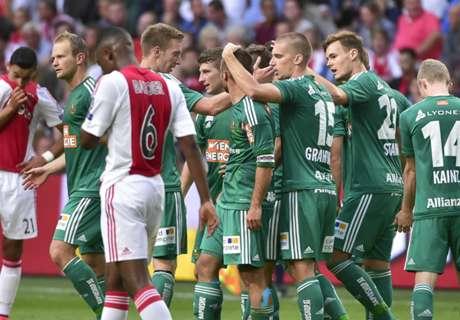 Samenvatting: Ajax - Rapid Wien