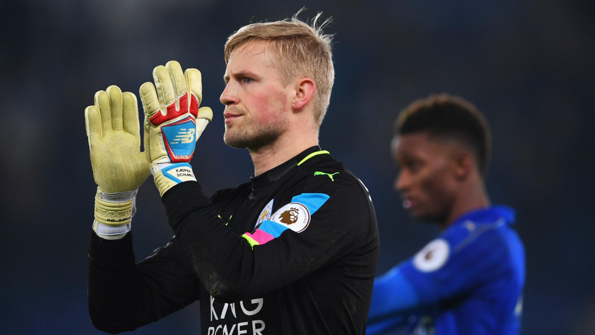 Kasper Schmeichel, Leicester City, Premier League, 05022017