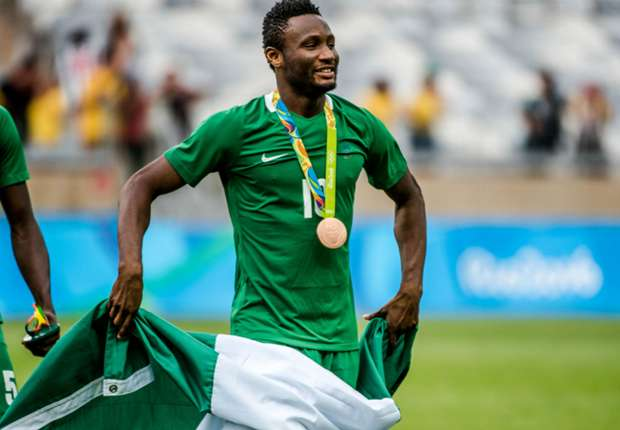 Chelsea's Mikel proud to lead Nigeria to Olympic medal