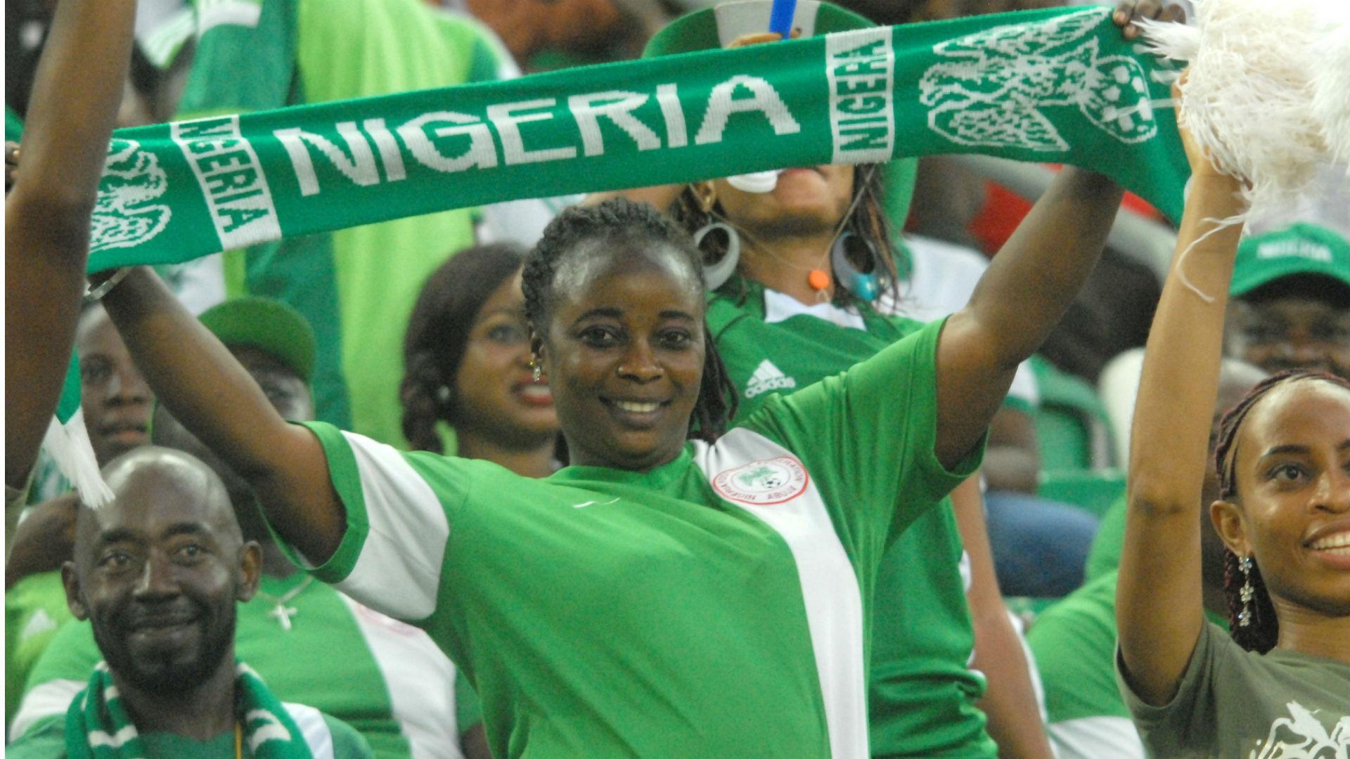 nigeria fans goal