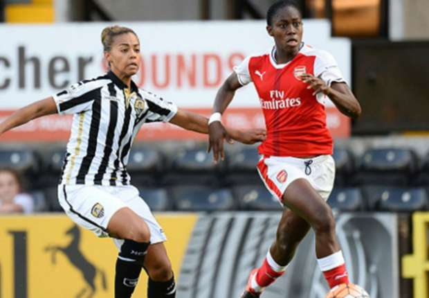 FINALLY! Arsenal's Oshoala ends five-month goal drought