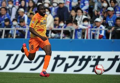 Utaka leads Hiroshima to victory