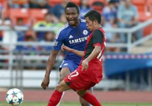 John Obi Mikel started for Chelsea in their 1-0 friendly victory over the Thailand All-Stars during the English champions' end-of-season tour