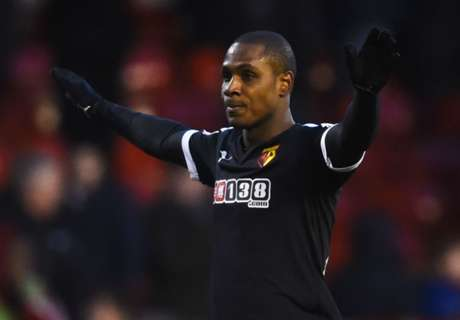 Ighalo targets double over Liverpool