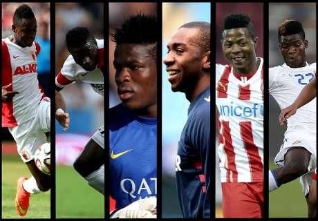 Stars, die sich gegen Afrika entschieden