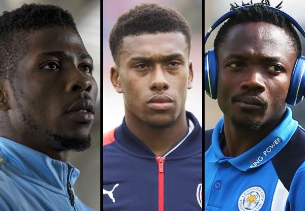 Image result for CAF Footballer of the Year: Iwobi, Iheanacho, Mikel, Musa in