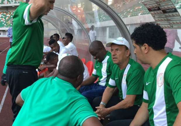 Gernot Rohr begins Nigeria reign with training for Tanzania game