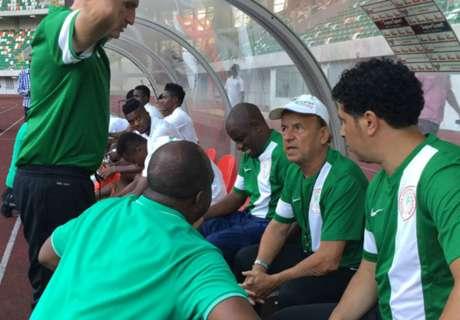 Gernot Rohr begins Nigeria reign