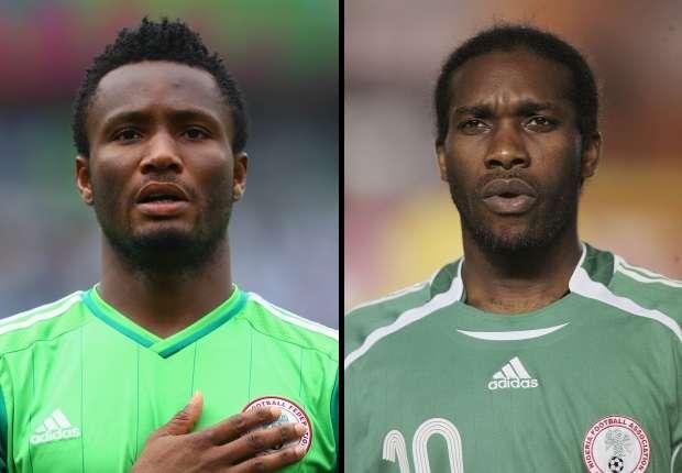 John Obi Mikel & Jay-Jay Okocha