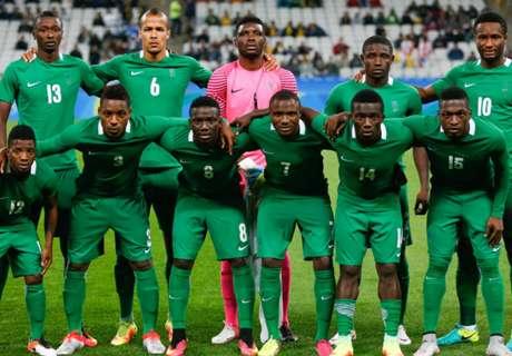 When will Nigeria play Denmark?