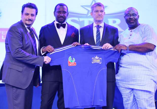 It's a new era for Nigerian football as Star Lager Beer partners NPFL
