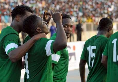 Galeria: Estádio superlotado na Nigéria