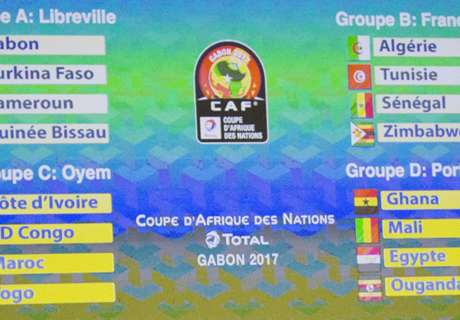 Afcon 2017 Draw: In Focus