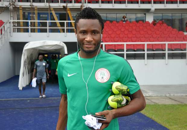 Image result for Mikel leads first training session, as Eagles' camp swells