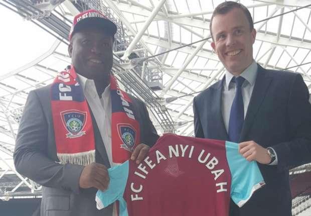 West Ham United splash 35,000 pounds on Anambra FA