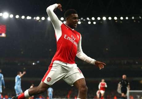 Iwobi scores as Arsenal top League table