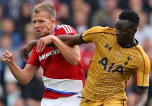 Kenya powerhouse Victor Wanyama continued in the heart of the midfield for second-placed Tottenham Hotspur as they won 2-1 at Middlesbrough on Saturday, overcoming another hurdle to keep the pressure on leaders Manchester City. While the Kenya internat...