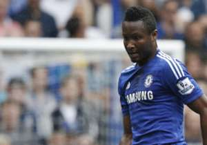 John Obi Mikel enjoyed another rare start for Chelsea and was replaced 12 minutes for the end of their 3-1 triumph over Sunderland; he and his Pensioners teammates were presented with the Premier League trophy after the match