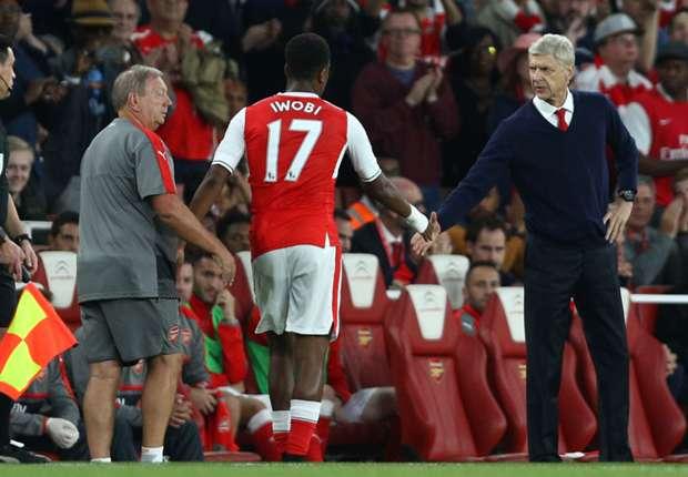Iwobi must convert scoring chances, says Arsene Wenger