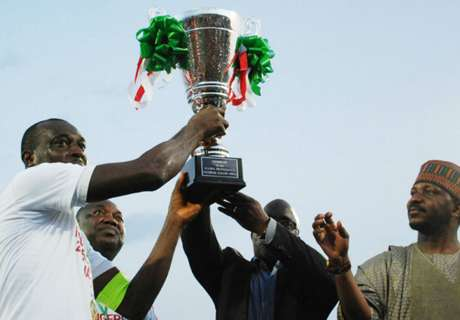 Rangers & Kano Pillars for Gold Cup
