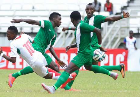 GALLERY: Relive Nigeria's defeat of B/Faso