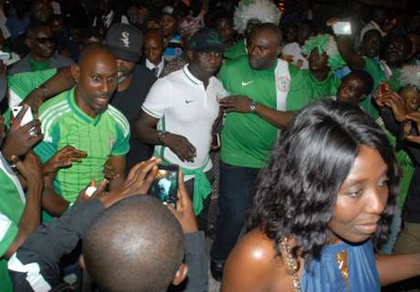 Nigeria U23 arrive Lagos from Rio