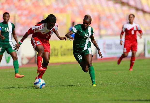 The Super Falcons lost 2-1 to Cameroon