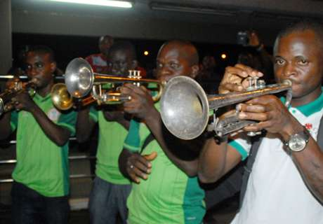 PICS: Bronze medalists get warm welcome