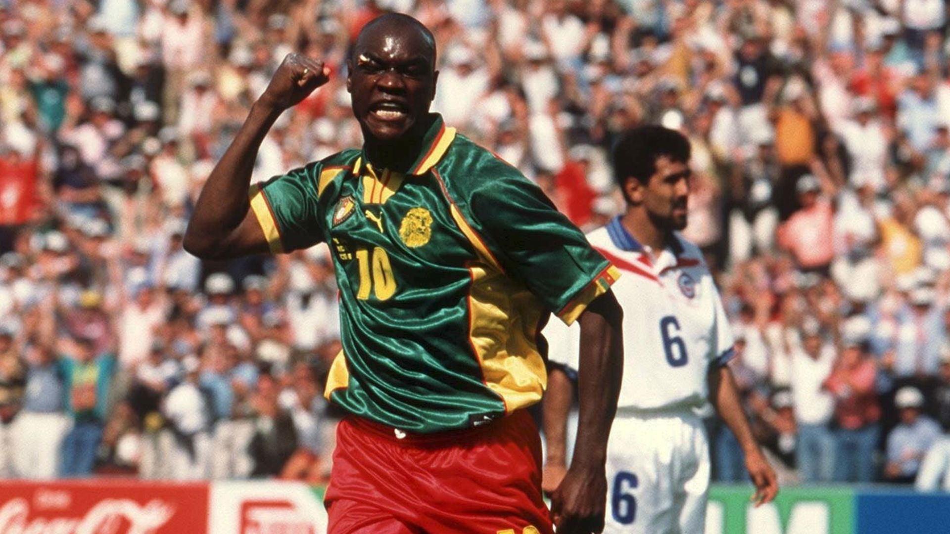 Cameroon legend Patrick Mboma applies for Indomitable Lions job
