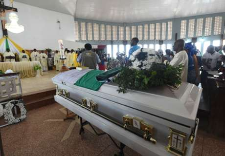 Stephen Keshi laid to rest