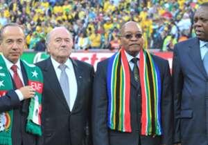 President Zuma congratulates Sundowns