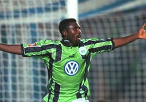 3. Jonathan Akpoborie: The most successful Nigerian frontman in the German top flight, Akpoborie found the net 61 times in 144 outings. He represented several German sides after leaving Nigeria in 1987, most notably turning out for Stuttgart, Hansa Ros...