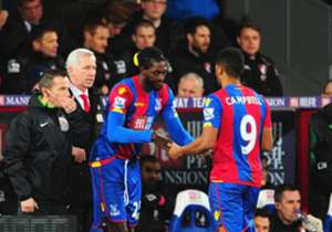 With Crystal Palace manager Alan Pardew building up the signing of Emmanuel Adebayor, many expected the forward to hit the ground running on his debut. Coming on with half an hour left to play, Adebayor showed that he still has that special factor abou...