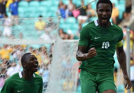 Striker Roma Bawa Nigeria Raih Perunggu