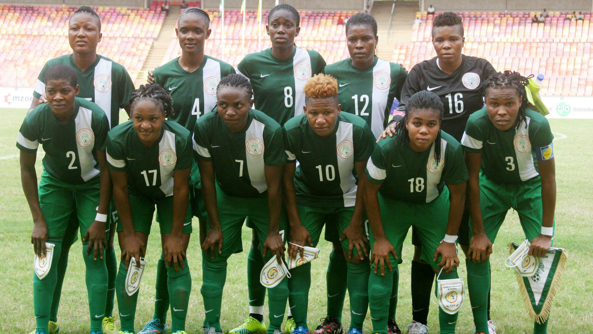 Image result for Super Falcons 2016