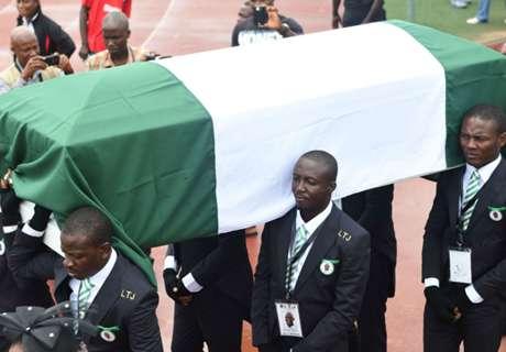Nigeria legend Stephen Keshi buried