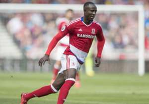 Albert Adomah: The Ghana wideman impressed in Middlesbrough's season opener against Stoke City, but the subsequent showings of Cristhian Stuani and the summer arrivals of Gaston Ramirez and Viktor Fischer increase competition and threaten Double A's pl...