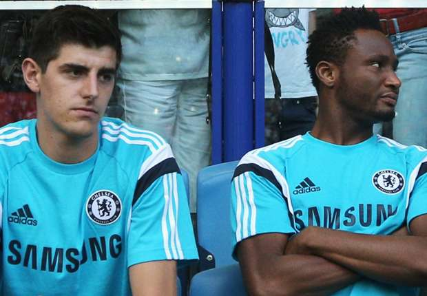 'I prefer to play in big teams' – Courtois jibes at Mikel as he insists trophies matter