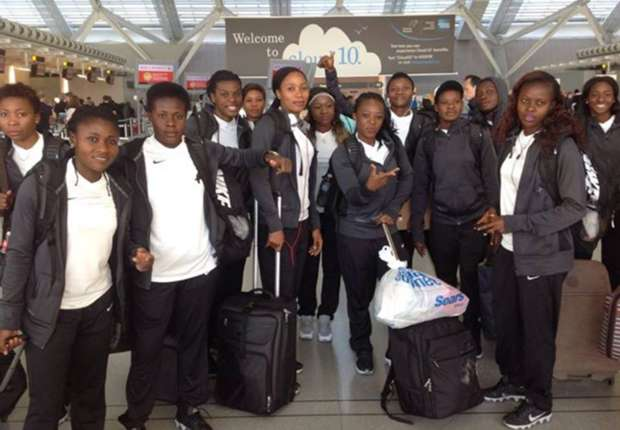 The Super Falcons had to travel by road from Cotonou to Lagos