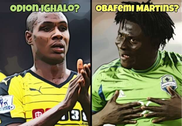 Odion Ighalo Obafemi Martins HP