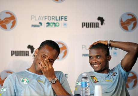 Drogba or Eto'o? Who was the best at his Peak?