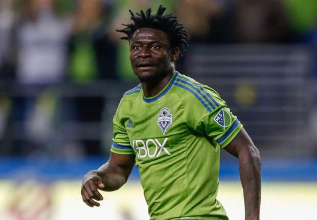 Obafemi Martins confirms China move in farewell to Seattle ... Obafemi Martins Sounders Fc