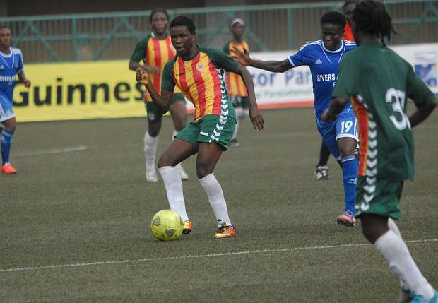 Rivers Angels battle Nasarawa Amazons for Nigeria women league title