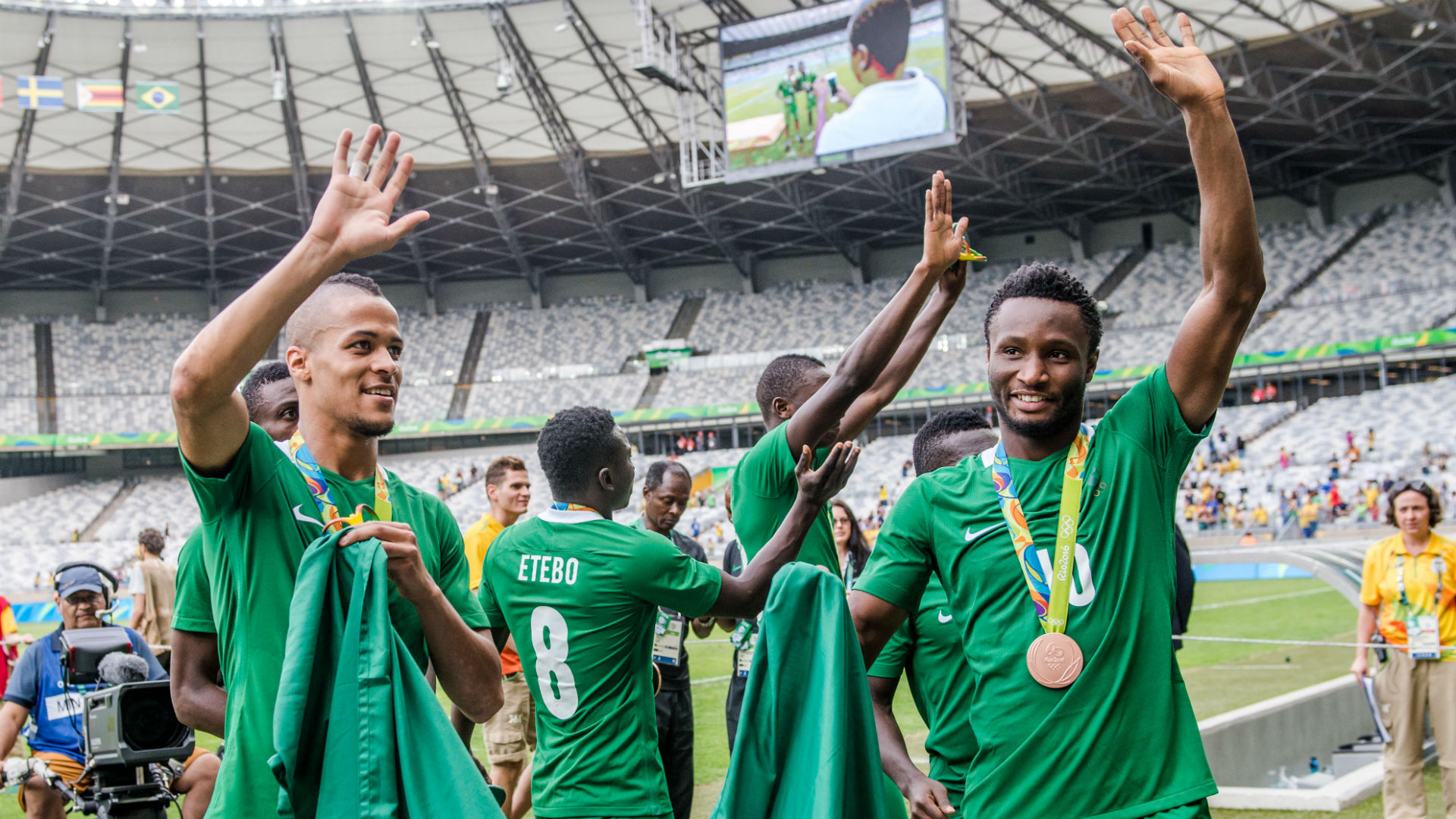 Nigeria earns Olympic bronze with 3-2 win over Honduras