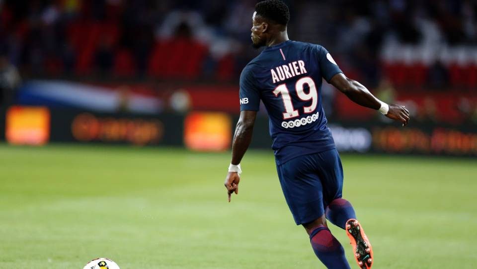 Serge Aurier of PSG