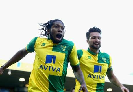 Norwich-speler ontkomt aan aanslag